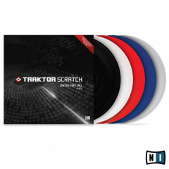 Native Instruments Traktor Scratch Pro Control Vinyl White Mk2