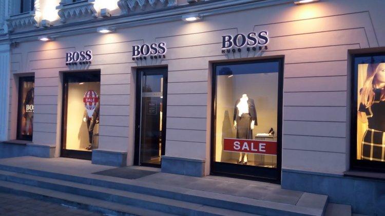 Hugo boss бутик работа в старом осколе девушке